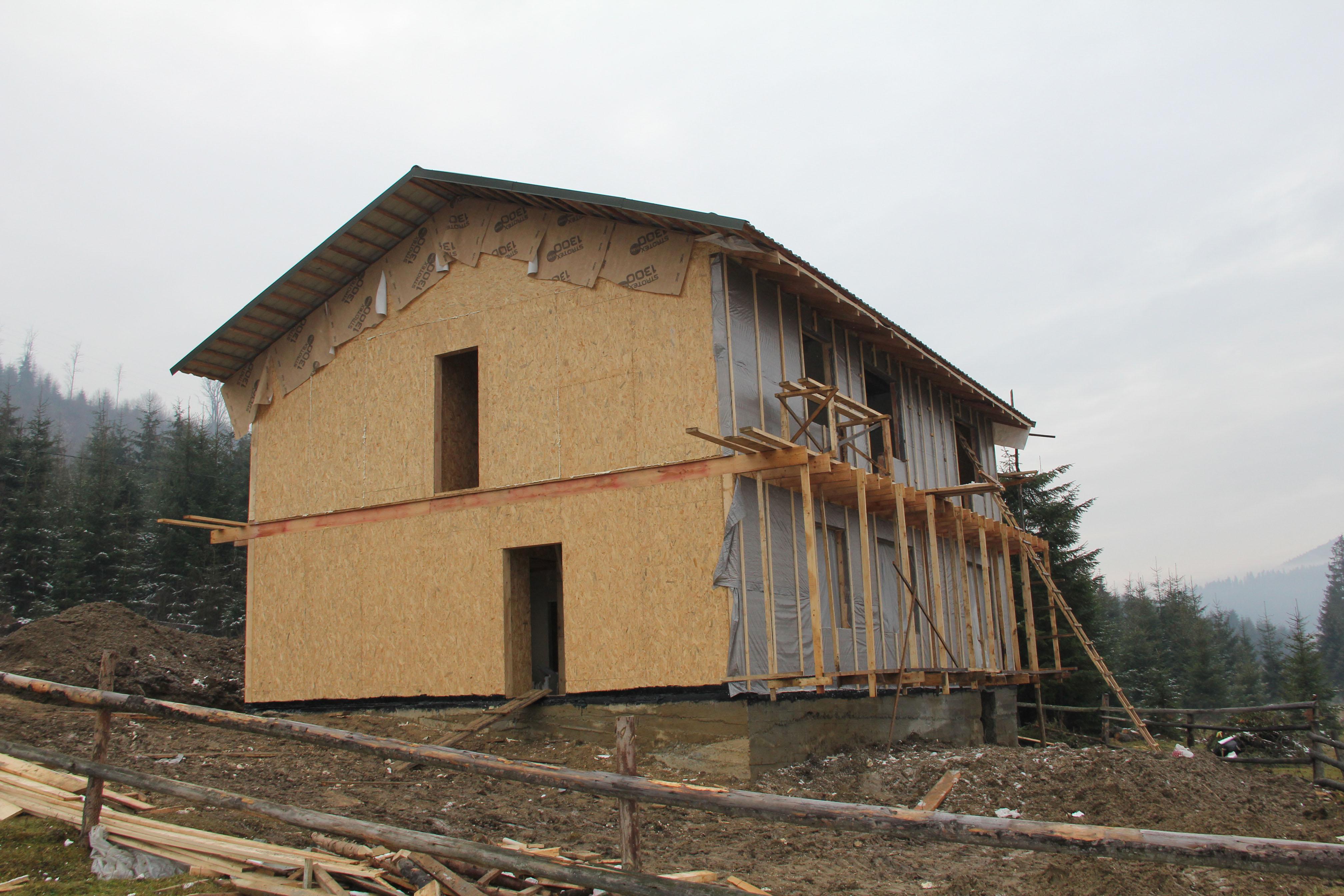 Строительство домов из sip панелей рис 2
