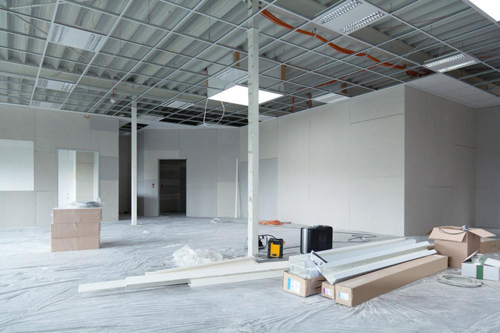 Капитальный ремонт и отделка офиса