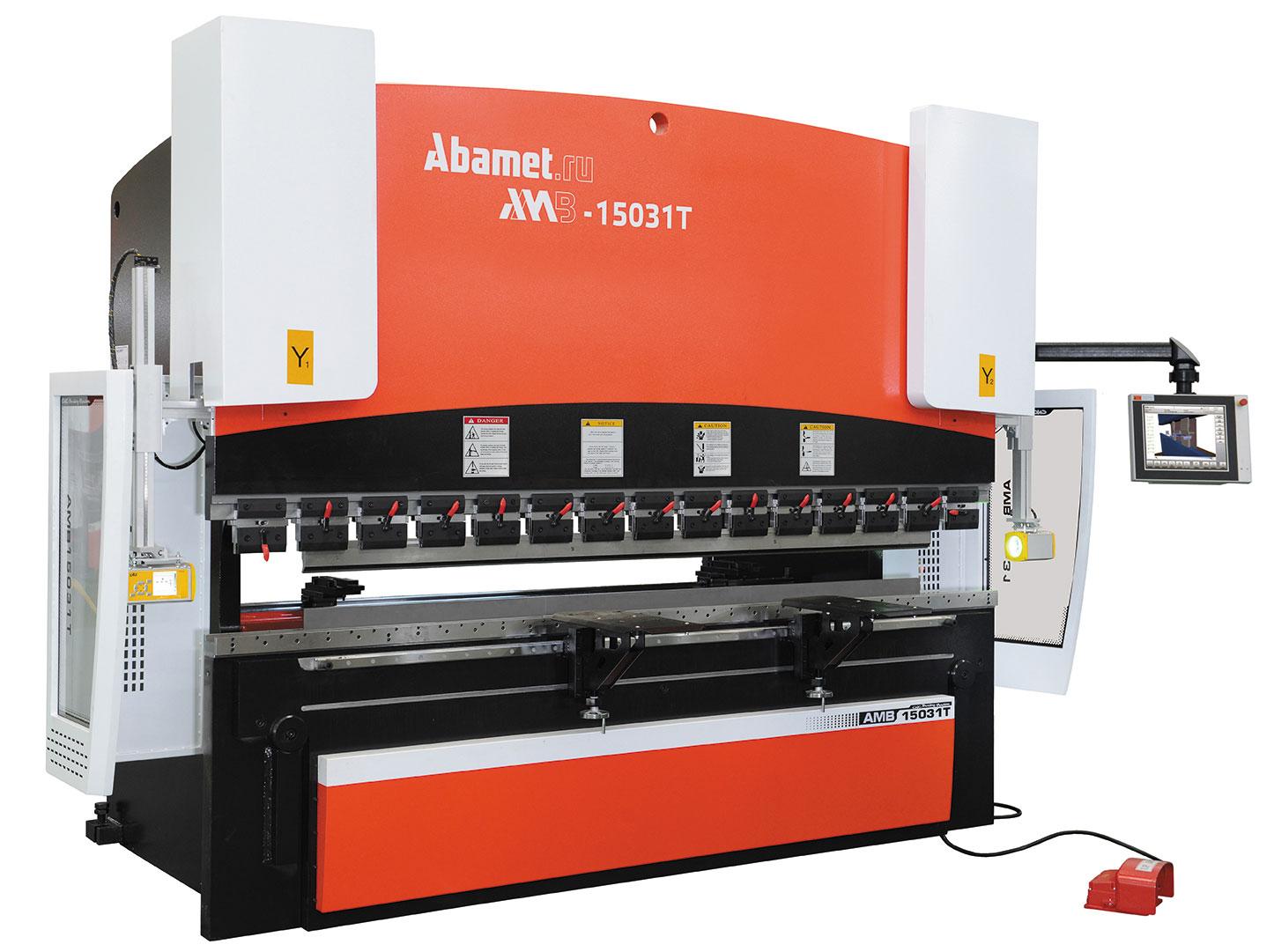 Гидравлический листогибочный пресс Abamet AMB-15031T
