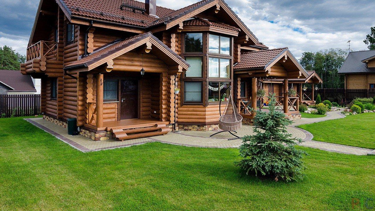 Дом из дерева в Истре