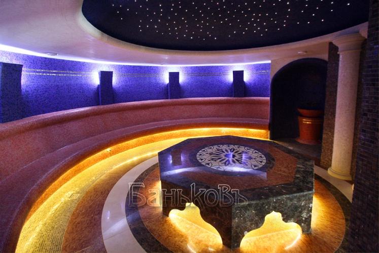 Турецкая баня в Москве