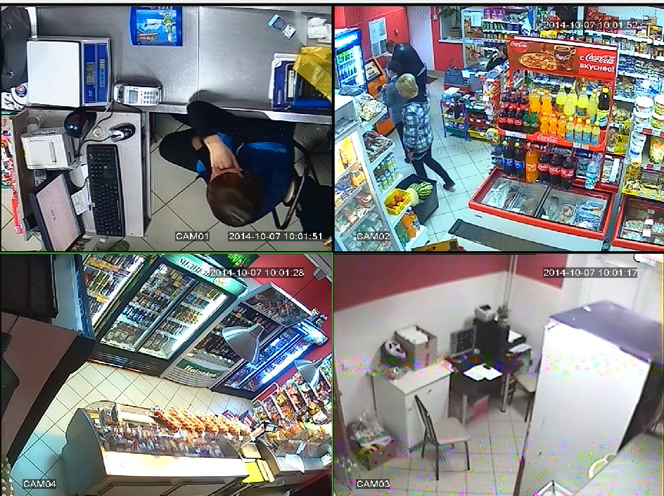 система видеонаблюдения для супермаркетов и магазинов