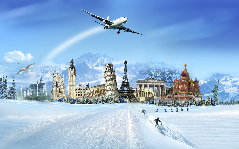 Авиаперелеты в новогодние каникулы