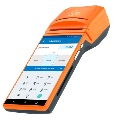 Мобильная онлайн-касса с эквайрингом