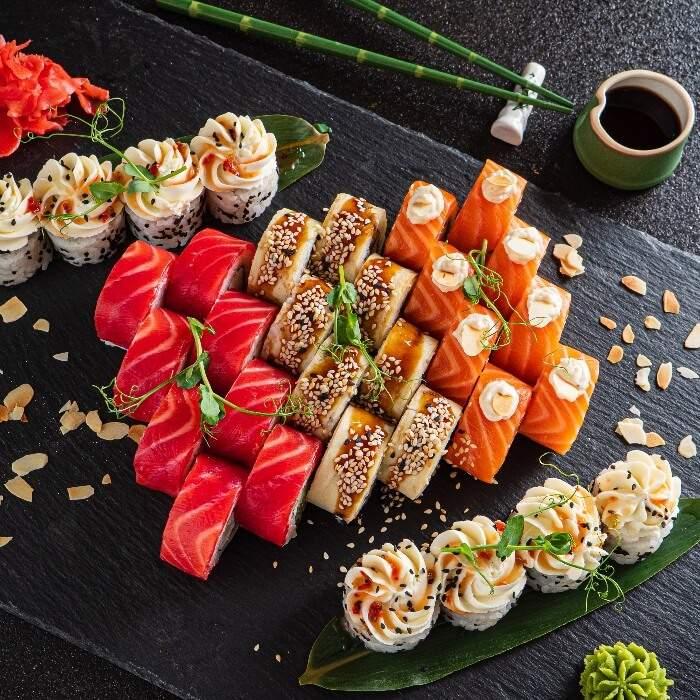 Сет Филадельфия Бали (шеф-акция) c доставкой от Sushi Chef Arts